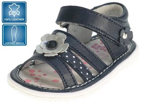 Tüdrukute sandaalid nahast Beppi 19-23 hind ja info | Imikute riided | kaup24.ee