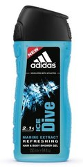 Гель для душа Adidas Ice Dive 250 ml