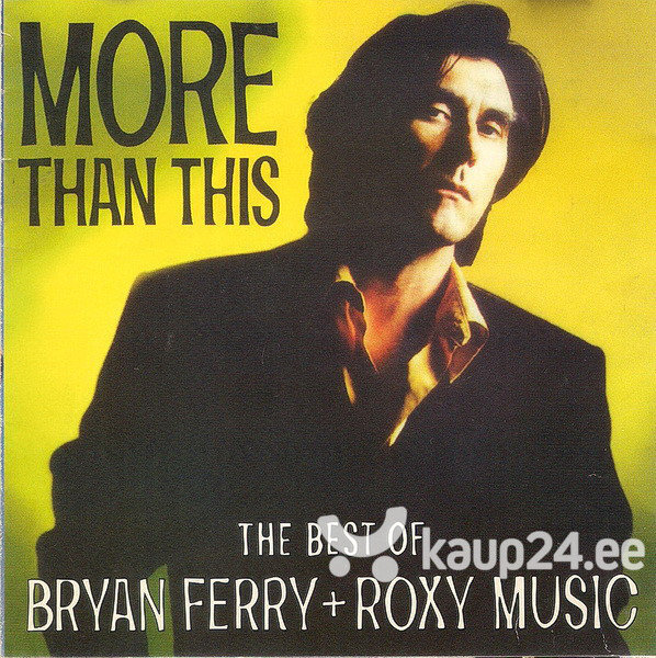 "CD BRYAN FERRY + ROXY MUSIC ""The Best Of"""