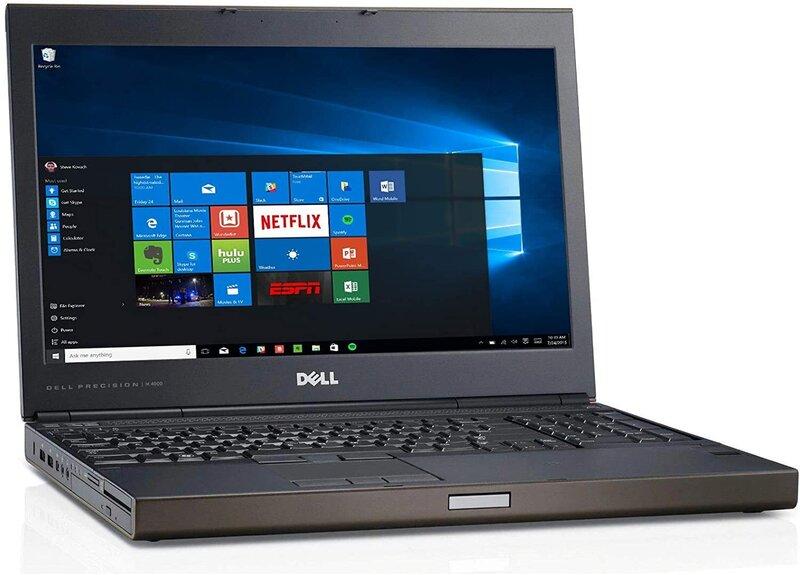 Sülearvuti DELL Precision M4800 I7-4910MQ 32GB 512GB 15.6 FHD nVidia K2100M Win10PRO