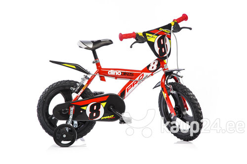 "Jalgratas poistele Dino bikes 14"" 143 GLN hind ja info | Jalgratas poistele Dino bikes 14"" 143 GLN | kaup24.ee"