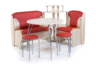 Köögimööbli komplekt Lotus (Ash, EF-112 + S.-101, Terra ef. 112, hõbe) hind ja info | Köögimööbli komplektid | kaup24.ee
