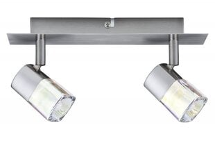 Lae/seina valgus Hoya 2x40W G9 halogen 230V nickel satin hind ja info | Laelambid | kaup24.ee