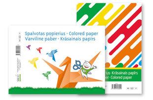 Värviline paber A4, 8 lehte
