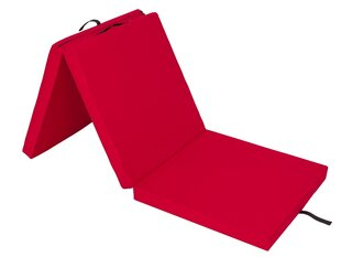 Kokkupandav madrats Hobbygarden Alex L, 60x180 cm, punane hind ja info | Madratsid | kaup24.ee