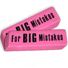 Kustukumm For Big Mistakes