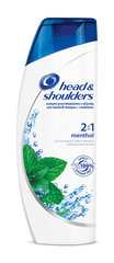 Šampoon Head&Shoulders Menthol 2in1 360 ml