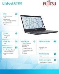 Fujitsu Lifebook U7310 (U7310MC5GMPL) hind ja info | Sülearvutid | kaup24.ee