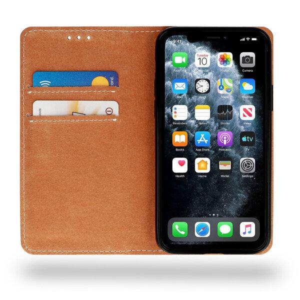 Telefoniümbris Leather book Honor 20 / Nova 5T, must Internetist