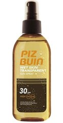 Kaitsev sprei Piz Buin Wet Skin Transparent SPF30 150 ml