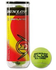 Теннисные мячики для уличных кортов Dunlop Club All Court