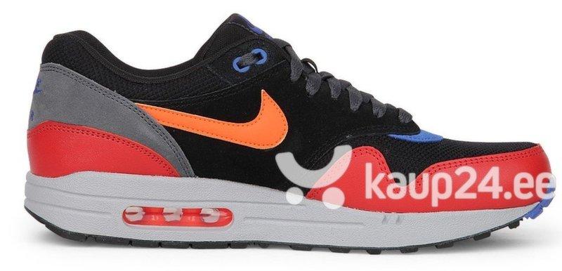 Meeste spordijalatsid Air Max 1 Essential 017 537383-017 Nike, must/punane/hall