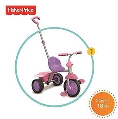 Kolmerattaline Fisher price Glee 2 IN 1, 3350233