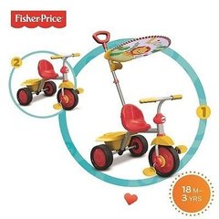 Kolmerattaline Fisher price Glee Plus 2 IN 1, 3300133 цена и информация | Kolmerattalised jalgrattad | kaup24.ee