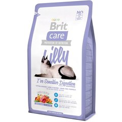 Kuivtoit kassidele Brit Care Lilly I've Sensitive Digestion 2 kg