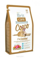 Сухой корм Brit Care Cat Cocco I'm Gourmand 0,4 кг
