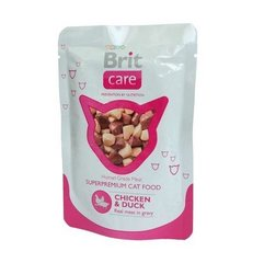 Konserv kassidele Brit Care Chicken & Duck 80g
