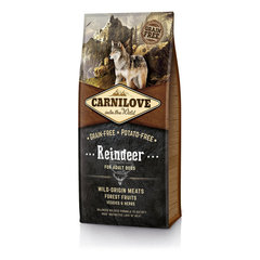 Kuivtoit koertele Carni Love Reindeer for Adult 12kg