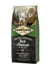 Kuivtoit koertele Carni Love Duck & Pheasant for Adult 12kg