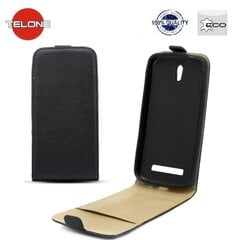Kaitseümbris Telone Shine Pocket Slim Flip/Samsung Galaxy S3 mini (i8190), Must