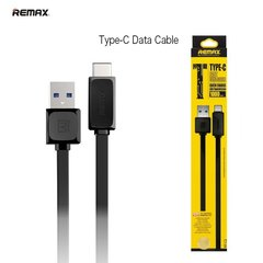 Kaabel Remax Flat & Soft USB-Type-C 1m, must