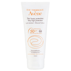 Mineraalne päikesekaitsekreem Avene Very High Protection SPF50 100 ml