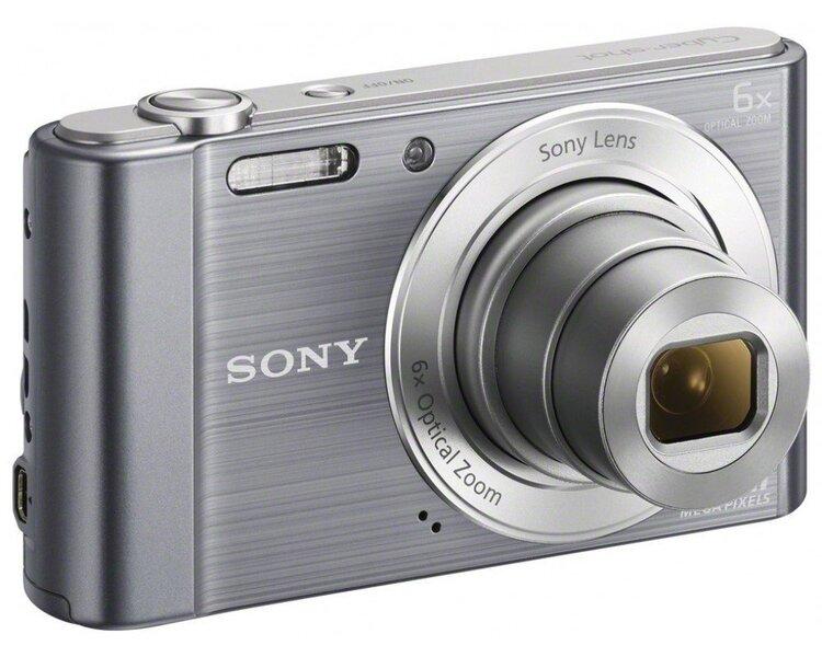 Kompaktkaamera SONY DSC-W810 Hõbedane