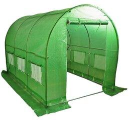 Kaarkatusega kasvuhoone 3x2 (6m²)