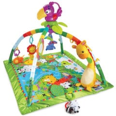 Tegelustekk helide, tulede ja mängutekiga Fisher Price Rainforest Melodies & Lights Deluxe