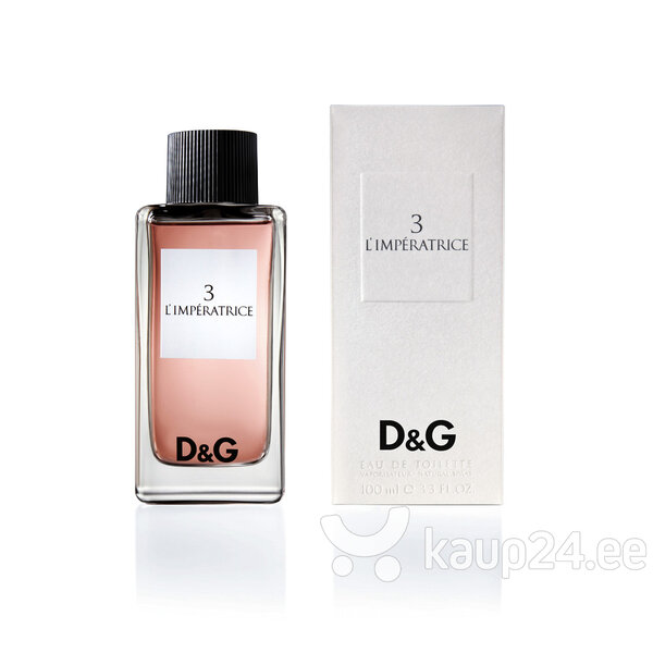 Tualettvesi Dolce & Gabbana 3 L'Imperatrice EDT naistele 100 ml hind