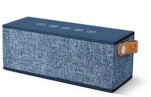 Juhtmevaba kõlar FRESHN REBEL Rockbox Brick Fabriq Edition Bluetooth, sinine