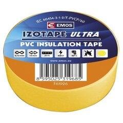 PVC isoleerteip IZOTAPE ULTRA 19/20 kollane