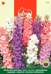 Aed-kukekannus /Larkspur/ Mixed colours, ASEJA, 0,5g, 42500( 5 )