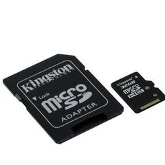 Kingston 32 GB microSDHC 10 Class + SD adapter