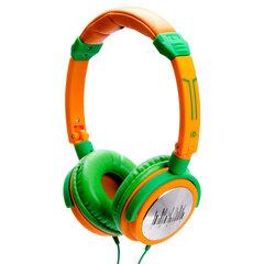 Kõrvaklapid Idance CRAZY-401, roheline/kollane