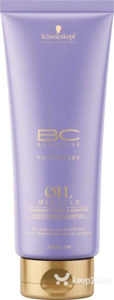 Шампунь Schwarzkopf Professional BC Bonacure Oil Miracle Barbary Fig Oil & Keratin 200 мл