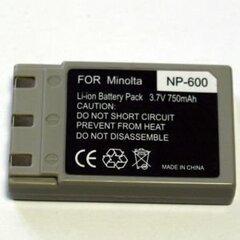 Aku Minolta NP-500, NP-600