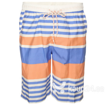 Meeste lühikesed püksid Soul Star, valge/sinine/oranž