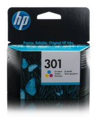 HP 301 TRI-COLOR INK CARTRIDGE цена и информация | HP 301 TRI-COLOR INK CARTRIDGE | kaup24.ee