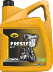 Õli KROON-OIL Presteza MSP 5W-30, 5L