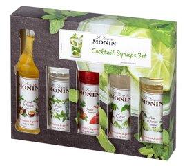 Набор сиропов для коктейлей Monin 5 × 50мл цена и информация | Набор сиропов для коктейлей Monin 5 × 50мл | kaup24.ee