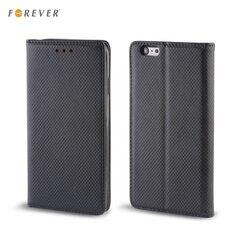 Kaitseümbris Forever Smart Magnetic Fix Book sobib Sony Xperia Z3 (D6603), must hind ja info | Mobiili ümbrised, kaaned | kaup24.ee