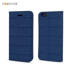 Kaitseümbris Forever Smart Magnetic Fix Cloth Line sobib Huawei P9 Lite, tumesinine