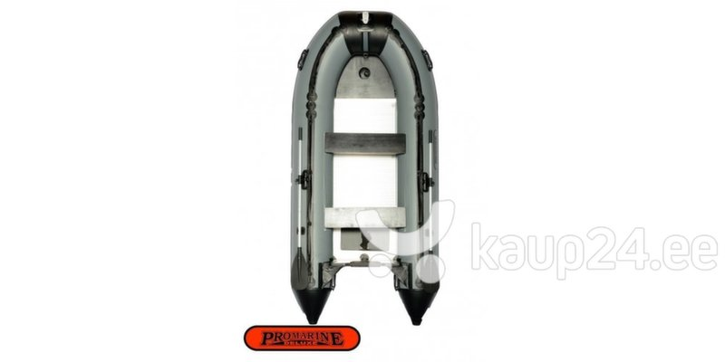 PVC paat ProMarine Deluxe DAL420, hall/must