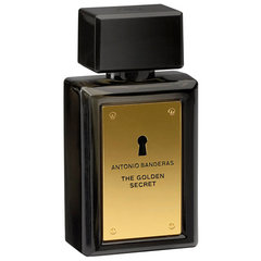 Tualettvesi Antonio Banderas The Golden Secret EDT meestele 50 ml hind ja info | Meeste parfüümid | kaup24.ee