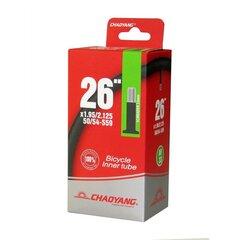 Sisekumm 26x1.90/2.125 AV40mm Box Chaoyang hind ja info | Jalgratta sisekummid ja rehvid | kaup24.ee