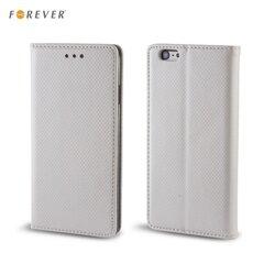 Kaitseümbris Forever Smart Magnetic Fix Book Huawei Ascend Y5 II (2016), hõbedane