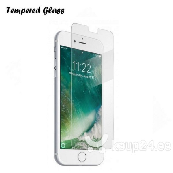 Ekraani kaitsekile Tempered Glass, Apple iPhone 7 Plus hind ja info | Ekraani kaitsekiled | kaup24.ee