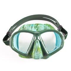 Mask Scorpena M2, roheline hind ja info | Ujumismaskid | kaup24.ee