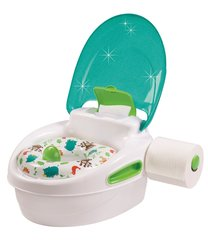 Pissipott Summer Infant 3-stage reward, roheline